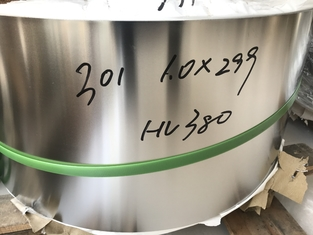 Stainless Spring Steel Strip / Cold Rolled Narrow Strip ASTM 301 ( 1.4310 )