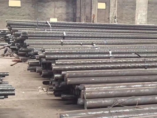 Hot Rolled Stainless Steel Round Bar JIS SUS420J2 Dilipat Hitam Finish