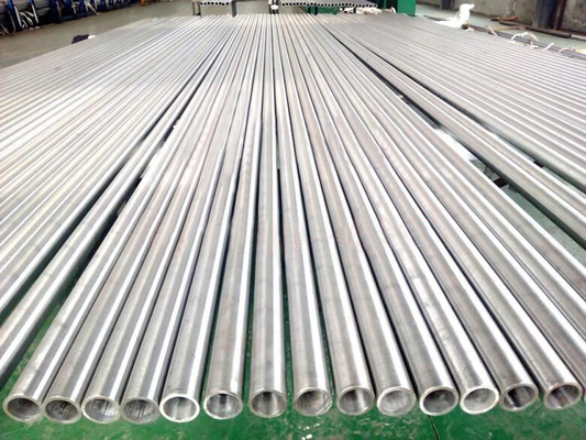 Cina ASTM A268 Ferritic TP430Ti, UNS S43036 Tabung Stainless Steel Dan Pipa Distributor