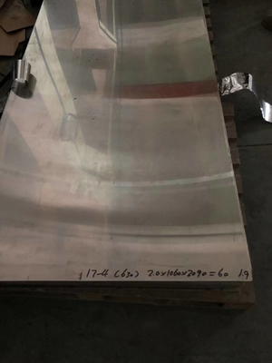 Cina 17-4PH 630 1.4542 Ketebalan Stainless Steel Sheet Cold Rolled 2.0mm Distributor